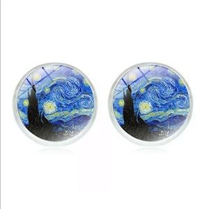 Jewelry - NWT 🌟Van Gogh earrings